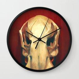 Platypus Skull Wall Clock