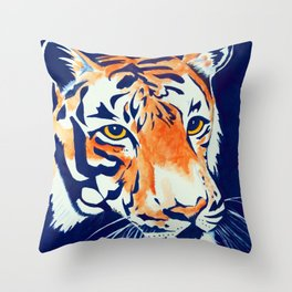 Auburn (Tiger) Throw Pillow