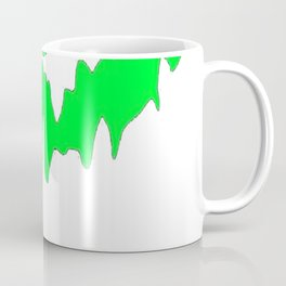 Scary Face Halloween Tshirt- Glow in the Dark Effect Print Coffee Mug