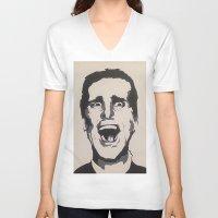 patrick V-neck T-shirts featuring Patrick by Kayleigh Kirkpatrick