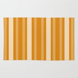 Marigold Victorian Lady Stripe Rug