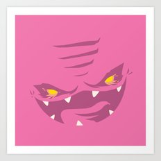 Krang! - Pink Squishy Edition Art Print