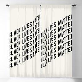 BLACK LIVES MATTER Blackout Curtain