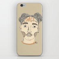 fka twigs iPhone & iPod Skins featuring FKA Twigs by Kai Jen.