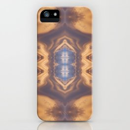 Lenticular Cloud Symmetry iPhone Case