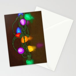 All Lit Up Stationery Cards