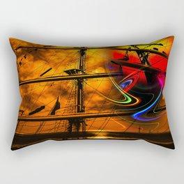 Under sail  Rectangular Pillow