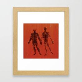 The Love Inside Framed Art Print