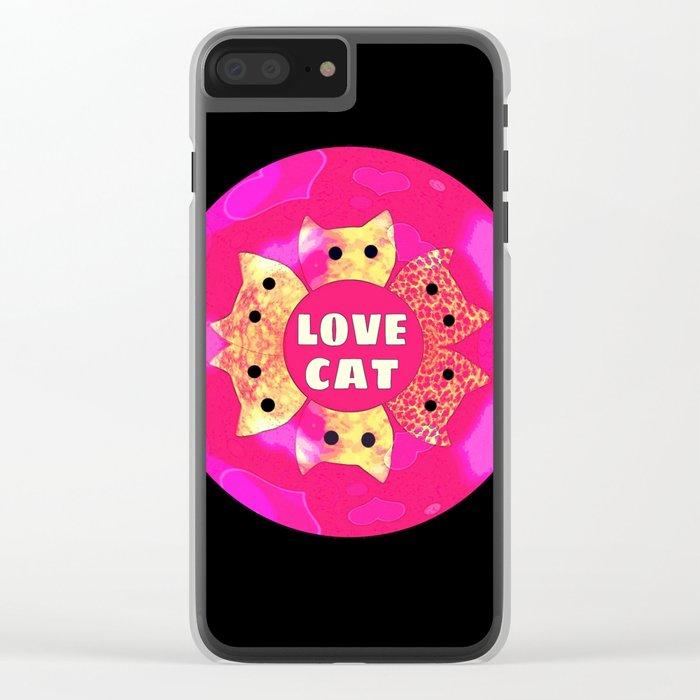 cat-91 Clear iPhone Case