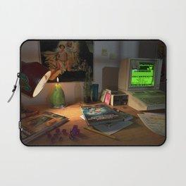 80s Nerd Desk Still Life Laptop Sleeve