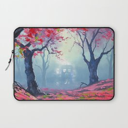 TARDIS CLOUD art painting Laptop Sleeve