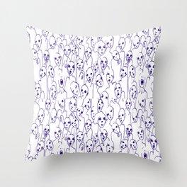 Zombie nation Throw Pillow