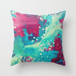 Abstract2 Throw Pillow