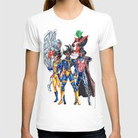 xmen T-shirts featuring Z fighters crossover xmen by Unic art