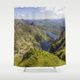 Snowdon Summit Shower Curtain