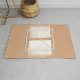 boho arch with monotone minimal constelation space Rug