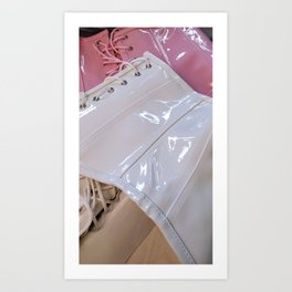 Wrapped in Plastic Art Print