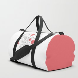 Dogs in space Duffle Bag