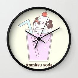 "Japanese chin Mochio ""ANMITSU SODA"" Wall Clock"