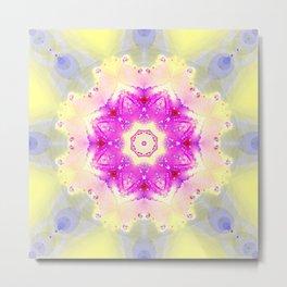 Pastellish Kaleidoscope Metal Print