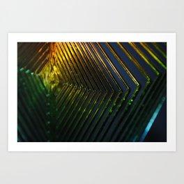 Shiny Cheap Rainbow Thrills Art Print