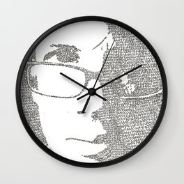 Hank Green Wall Clock