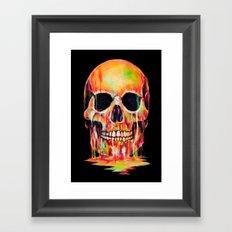 Dye Out Framed Art Print