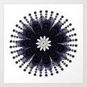Lilac Mandala by loolyelzayat