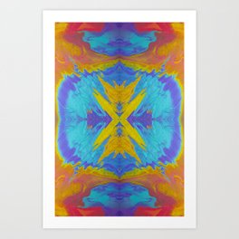 Sweetness Kaleidoscope 0003 Art Print