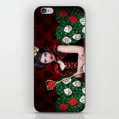 Painting The Roses Red iPhone & iPod Skin