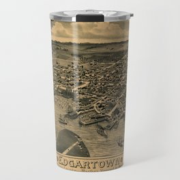 Map Of Marthas Vineyard 1886 Travel Mug