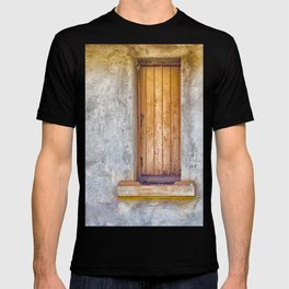Old shuttered window T-shirt