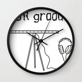 emdr graduate Wall Clock