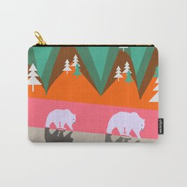 Bears walking home Carry-All Pouch
