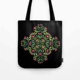 Little Red Riding Hood mandala Tote Bag