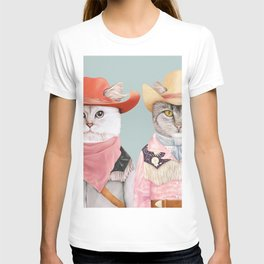Cowboy Cats T-shirt