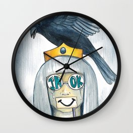 I'm Ok Wall Clock