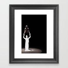 Vacant Partner Framed Art Print