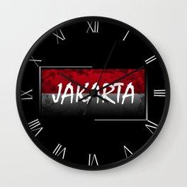 Jakarta Wall Clock
