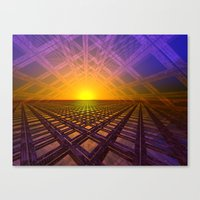 stargate Canvas Prints featuring Stargate by Phil Perkins