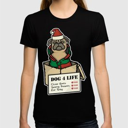 Dog 4 Life - Christmas T-shirt