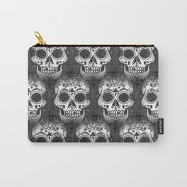 New skull allover pattern 1 Carry-All Pouch