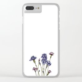 Spring Flowe Clear iPhone Case