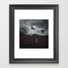 SHIELD THE LAND Framed Art Print