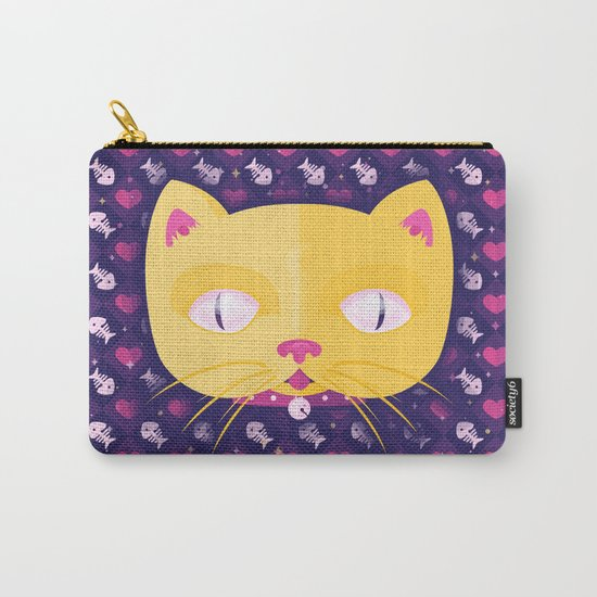 Silly Kitty Carry-All Pouch