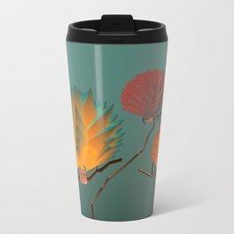 Origami Forest Birds  Travel Mug