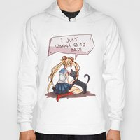 sailor moon Hoodies featuring Sailor Moon! by SweetOwls