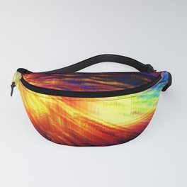 Colorful Geometric Storm Fanny Pack