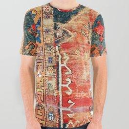Konya Central Anatolian Niche Rug Print All Over Graphic Tee