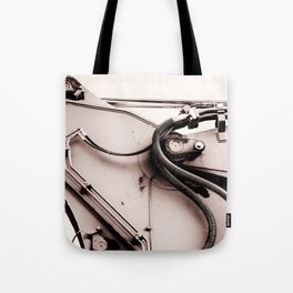 Dig Doug Industry Machine Abstract Tote Bag